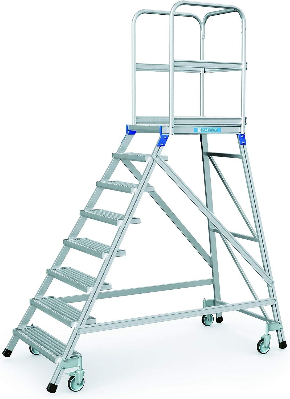 Zarges escalera, portátil, en una sola Z600 41956: Amazon.es: Bricolaje y herramientas