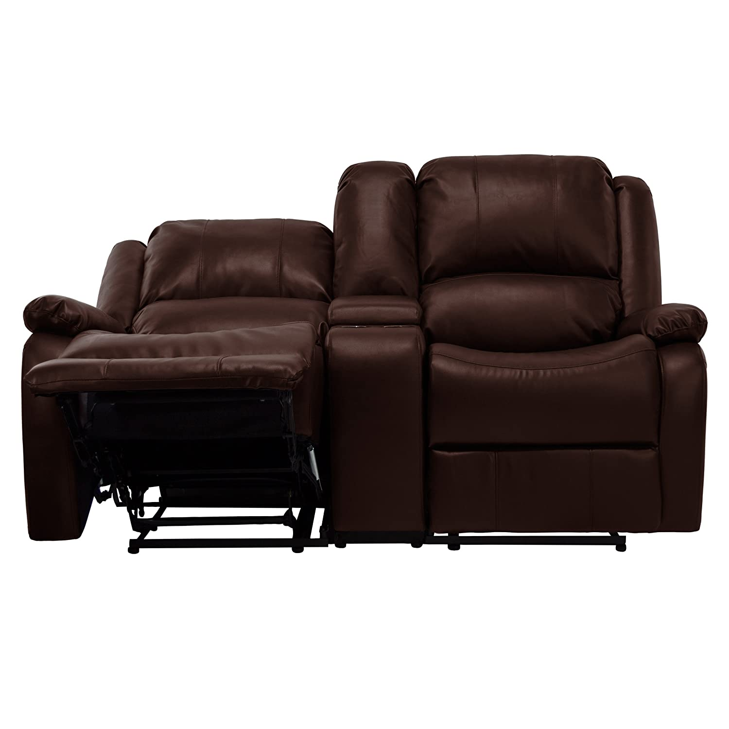 "Amazon RecPro Charles 67"" Double RV Zero Wall Hugger Recliner"