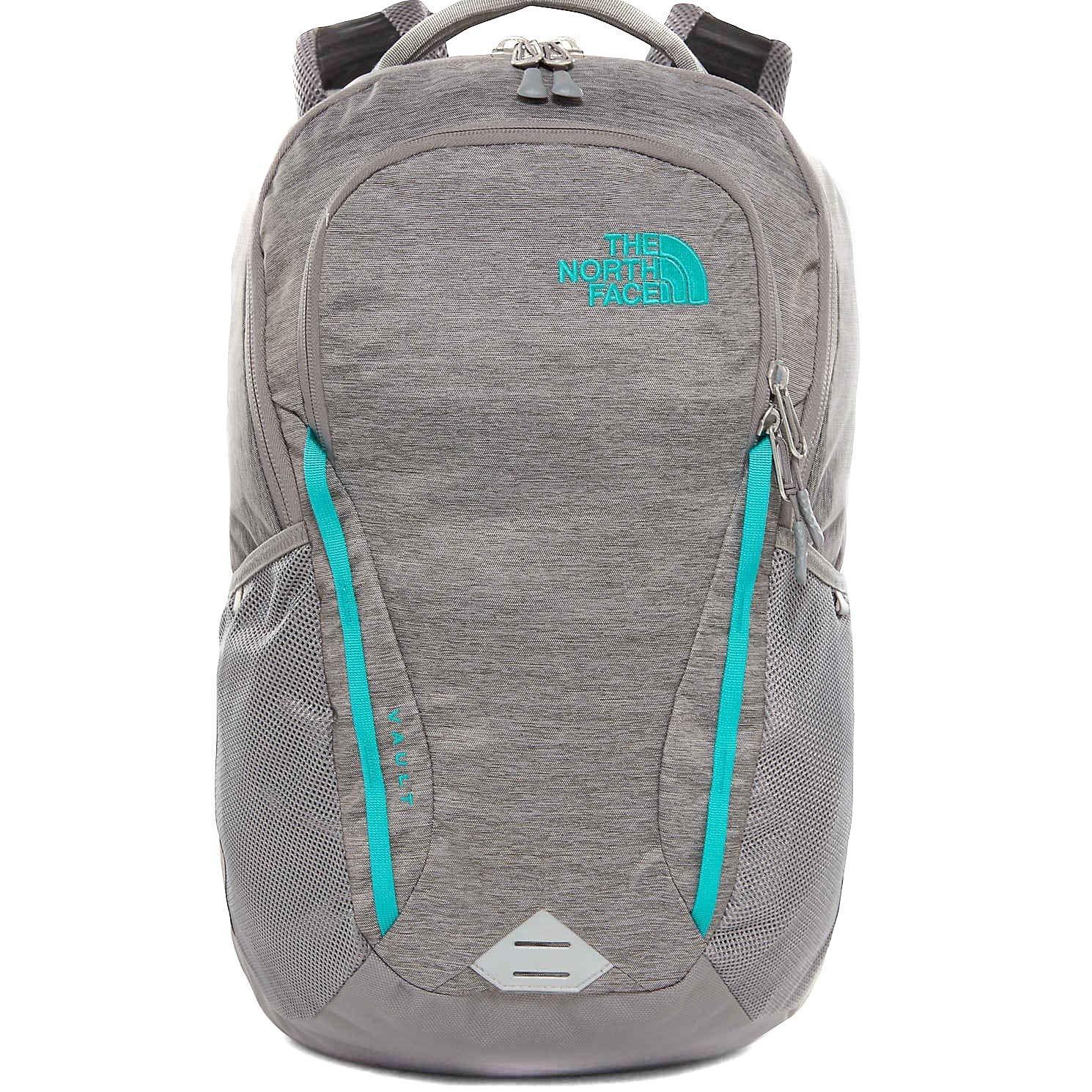 644a6255a3d5 The North Face Women's Women's Vault Backpack Zinc Grey Light  Heather/Kokomo Green One Size