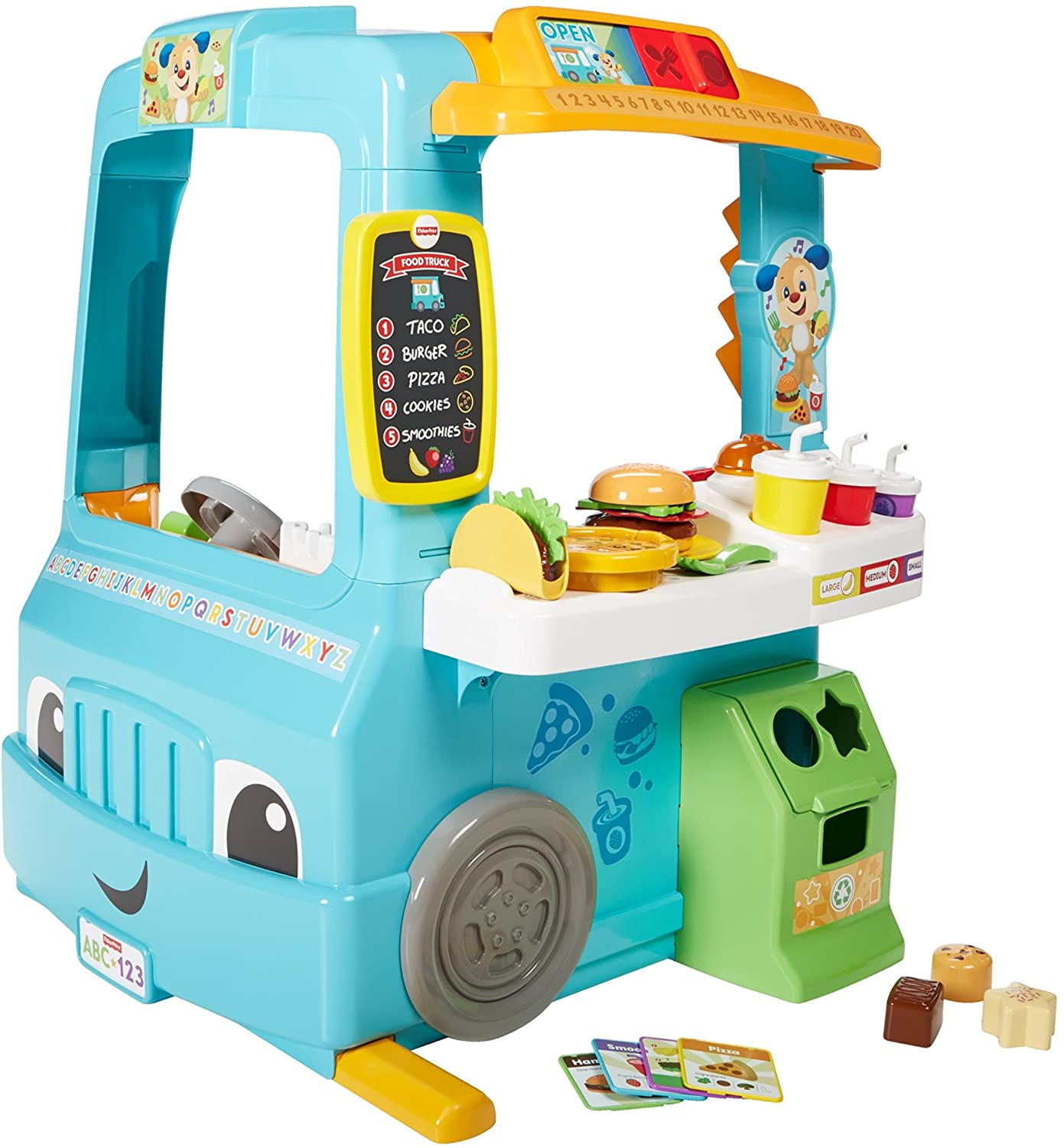 Amazon Fisher Price Laugh & Learn Servin Up Fun Food Truck