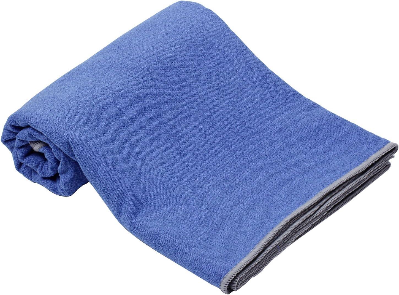 tapiz para nataci/ón Viking toalla de playa de microfibra de secado r/ápido esterilla de yoga ligera y fina patr/ón de playa Blanco 150x75 cm