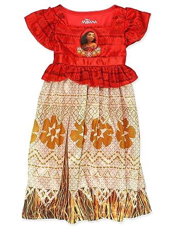 Moana Disney Princess Girls Toddler Fantasy Gown Nightgown Pajamas (4 265c9ad88