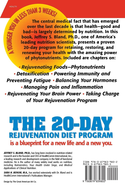 The 20 day rejuvenation diet program jeffrey s bland the 20 day rejuvenation diet program jeffrey s bland 9780879839802 amazon books nvjuhfo Gallery