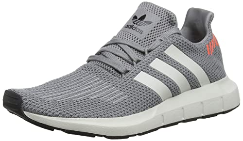 adidas Mens Swift Run, Grey Three/CORE Black/Grey ONE, ...