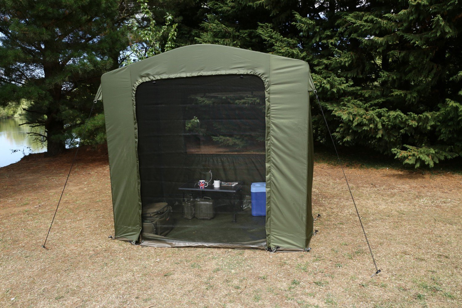 Fox Carp Fishing NEW Royale Cook Tent Station Amazon.co.uk Sports u0026 Outdoors & Fox Carp Fishing NEW Royale Cook Tent Station: Amazon.co.uk ...