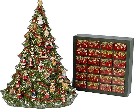Villeroy Boch Tannenbaum.Villeroy Boch Multi Colour Advent Calendar Tree Amazon Co Uk