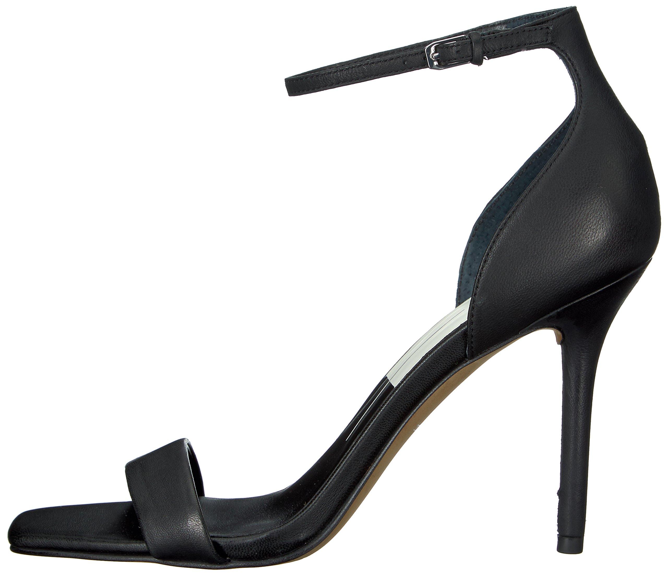 Dolce Vita Women's Halo Heeled Sandal, Black Leather, 8.5 Medium US by Dolce Vita (Image #5)
