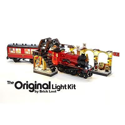 Brick Loot LED Lighting Kit for Lego Harry Potter Hogwarts Express - 75955 - Custom Designed - Handmade - Durability Tested: Toys & Games