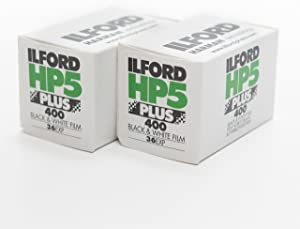 Ilford 1574577 HP5 Plus, Black and White Print Film, 35 mm, ISO 400, 36 Exposures (Pack of 2)