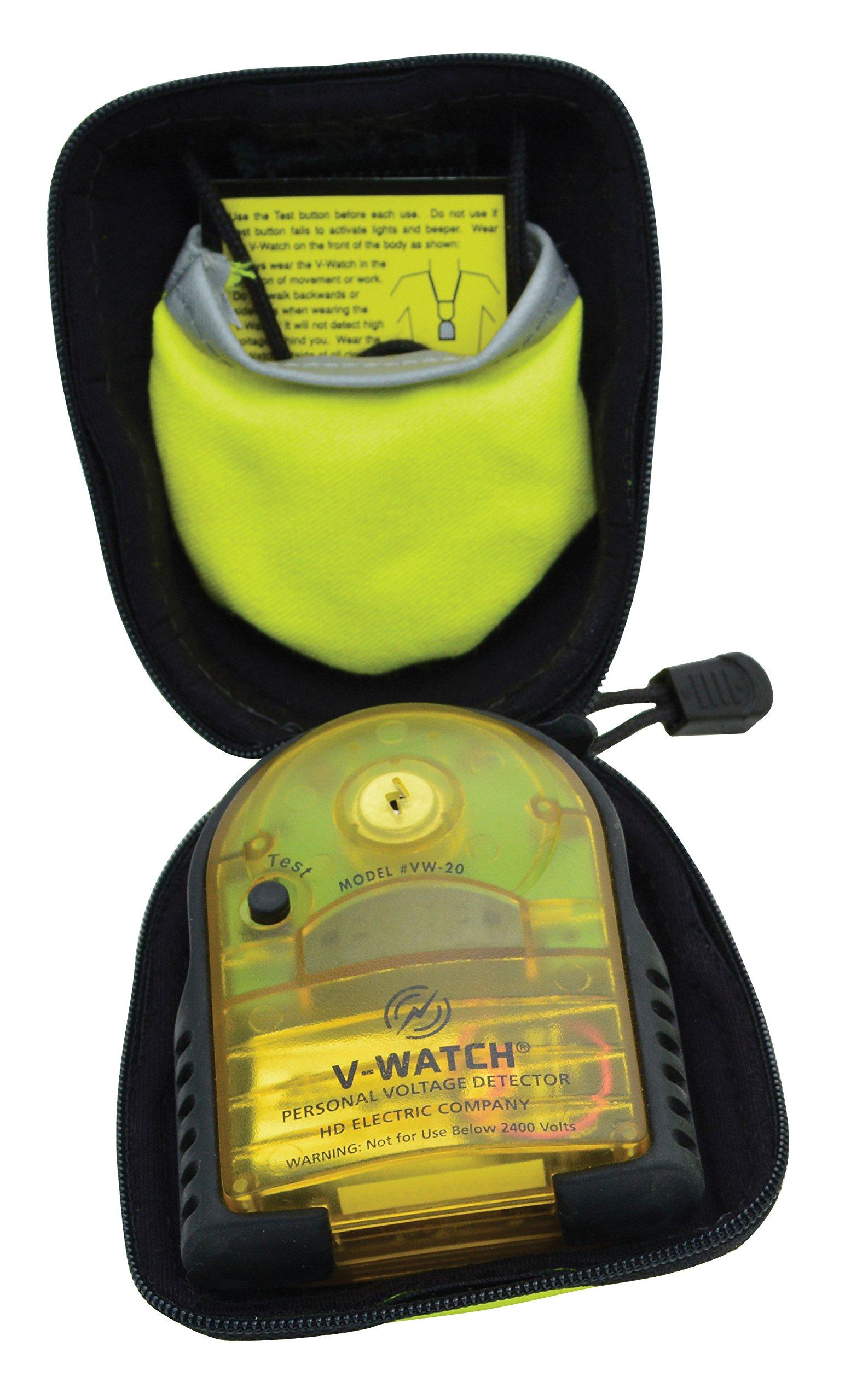 Greenlee VW-20HFR V-Watch Personal Voltage Detector Fr