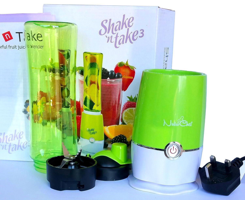 Shake'nTake3 Portable Mini Electric Juicer Multifunctional Juice Extractor Blender Fruit Smoothie Maker Shake n Take