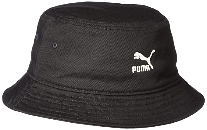Puma Men s Cotton Bucket Hat (021172 Black)  Amazon.in  Clothing ... 1f59f5449bc