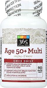 365 Everyday Value, Age 50+ Multi Iron-Free, 90 ct