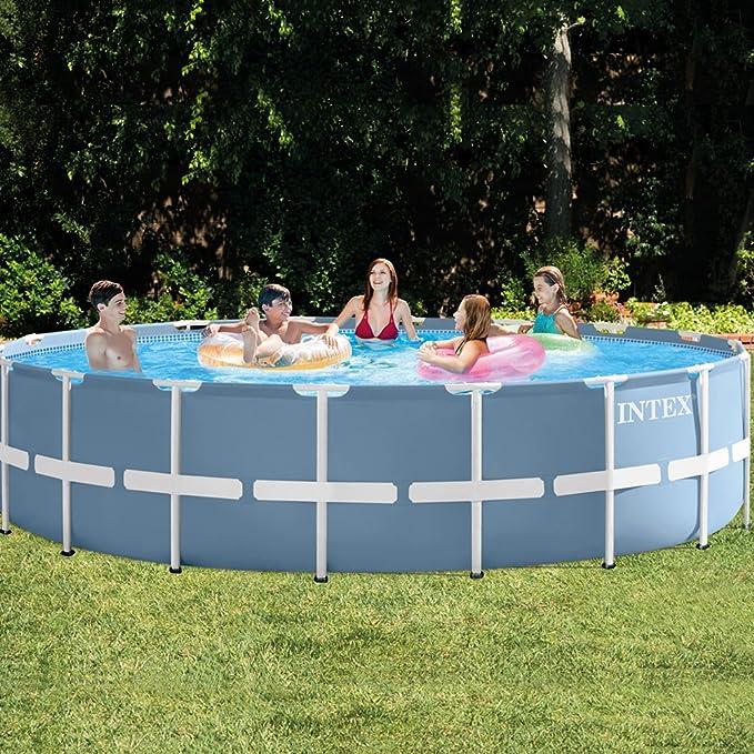 Intex 26752NP - Piscina desmontable Prisma Frame 549 x 122 cm, 24.311 litros: Amazon.es: Jardín