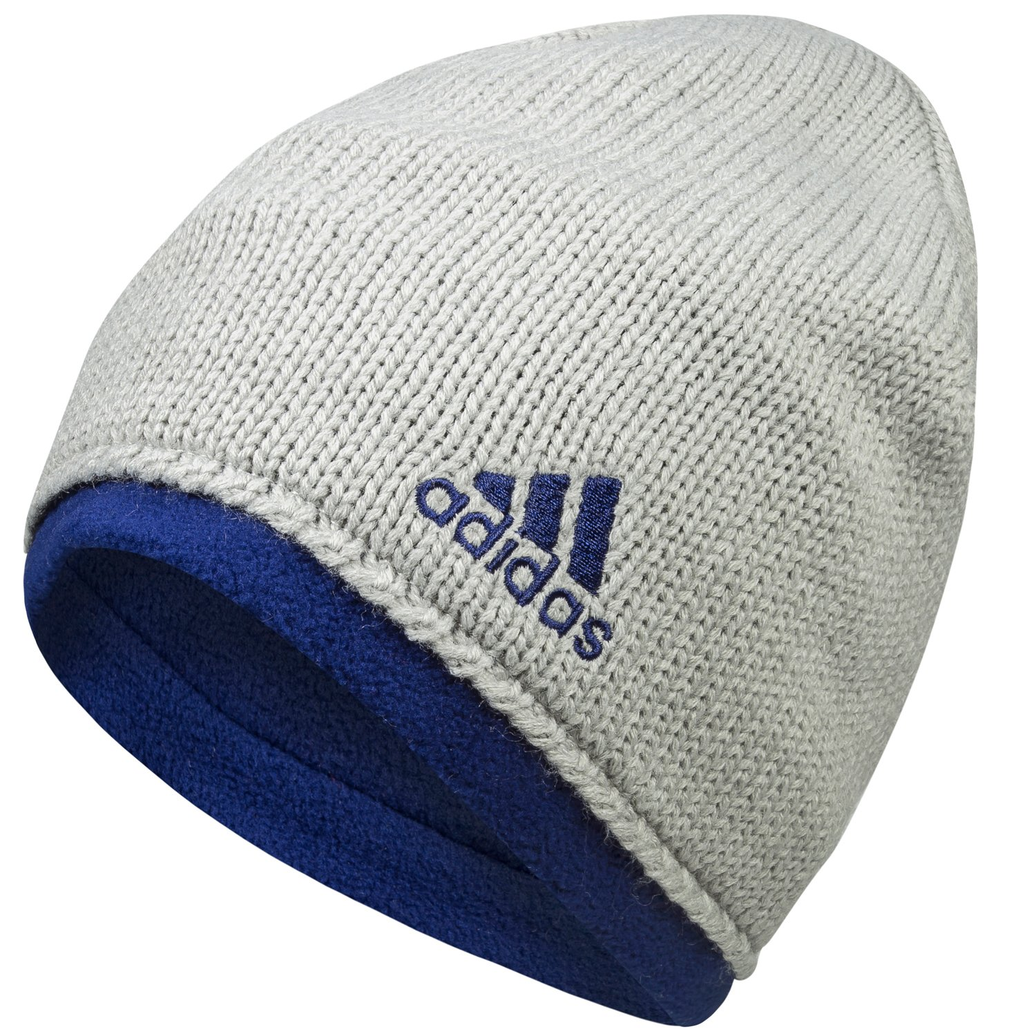 e6966b3aacc adidas Performance Climawarm Kids Beanie Hat - Grey - One Size   Amazon.co.uk  Sports   Outdoors