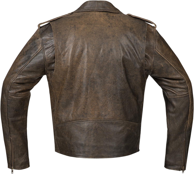 Chopper Pull-Up-Leather Highway Veste Veste Lourde-100/% cuir v/éritable Veste de Biker Bohmberg Berlin Veste de moto cuir de vachette pour homme-syle Antik