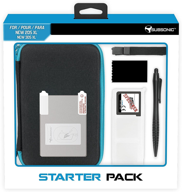Subsonic - Pack De Protección Con Funda, Screen Protector, Caja Para Cartuchos, Stylus Y Toallita Microfibra (Nintendo New 2Ds Xl Y New 3Ds Xl): Amazon.es: Videojuegos