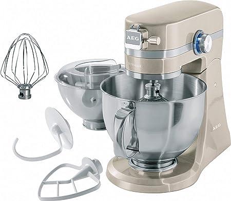Robot de Cocina AEG UltraMix KM4620, 1000 W, bol 4,8 l (Reacondicionado Certificado): Amazon.es: Hogar