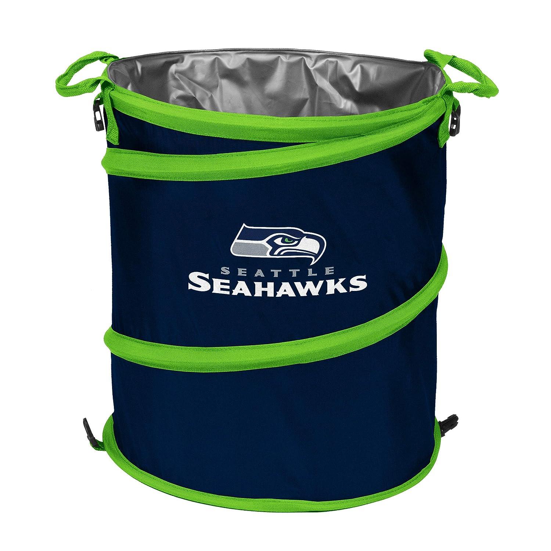Logo Brands NFL Collapsible Multi Function Pop-Up Barrel: Cooler, Hamper or Trash Can