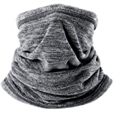 WTACTFUL Soft Fleece Neck Gaiter Warmer Face Mask for Cold Weather Winter Outdoor Sports