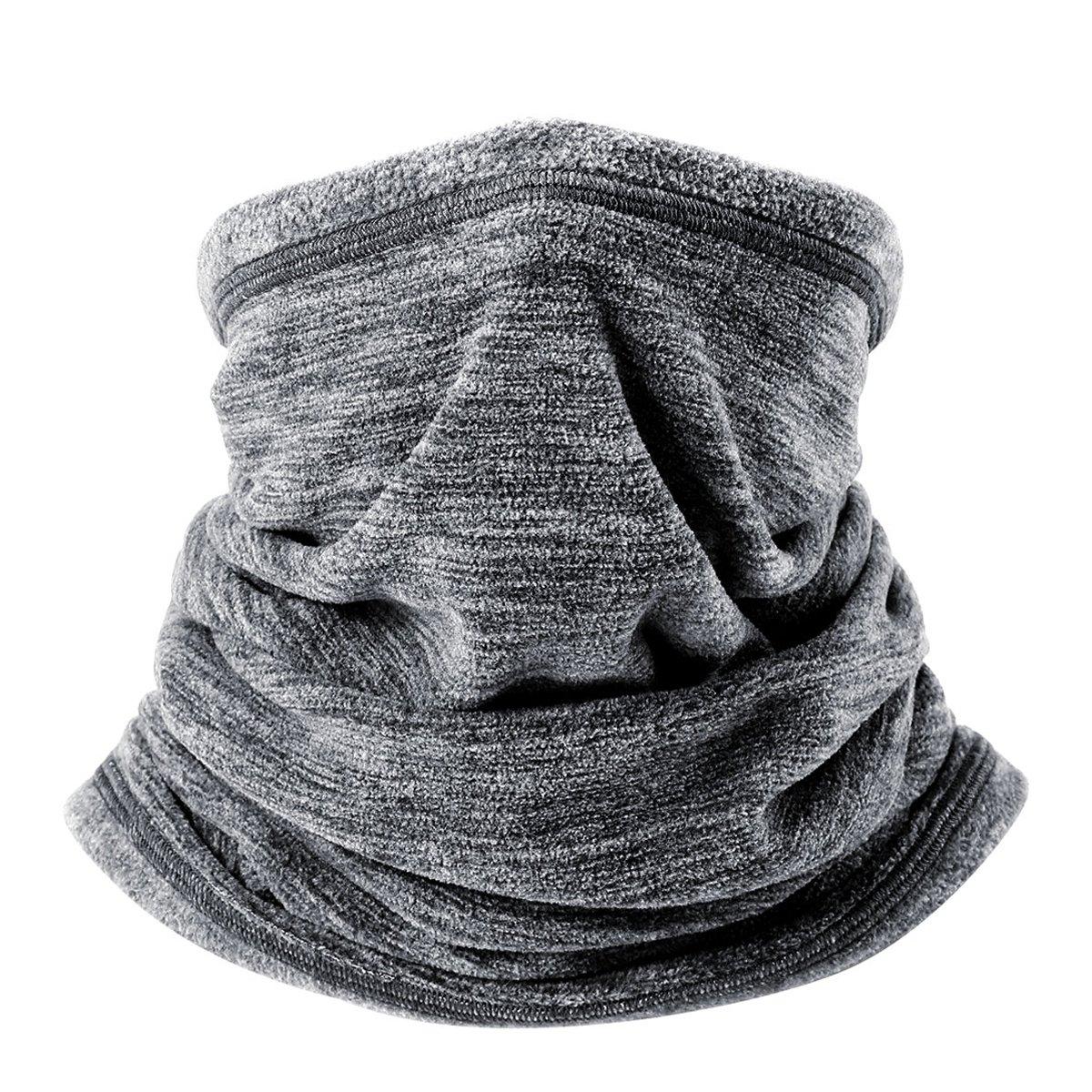 /écharpe de maintien au chaud pour temps les sports d/'hiver Wtactful Lot de 2 caches-cou en polaire