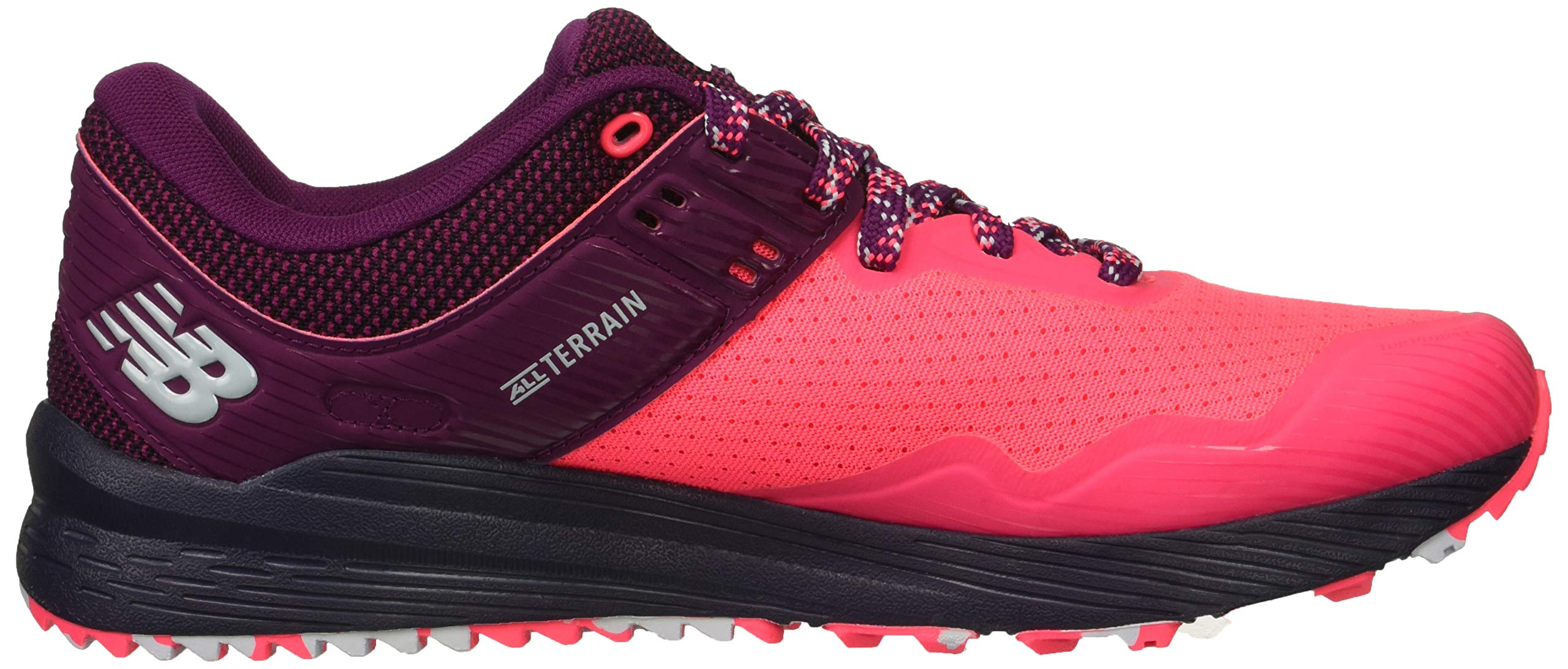 New Balance Women's Nitrel V2 FuelCore Trail Running Shoe Pink zing/Claret/Pigment 5 B US by New Balance (Image #7)