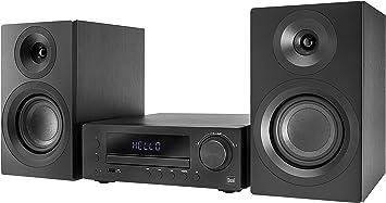 DUAL Dab-MS 170 - Equipo estéreo (Dab(+), sintonizador FM, Reproductor de CD, transmisión de música por Bluetooth, Puerto USB, Entrada Auxiliar, Mando ...