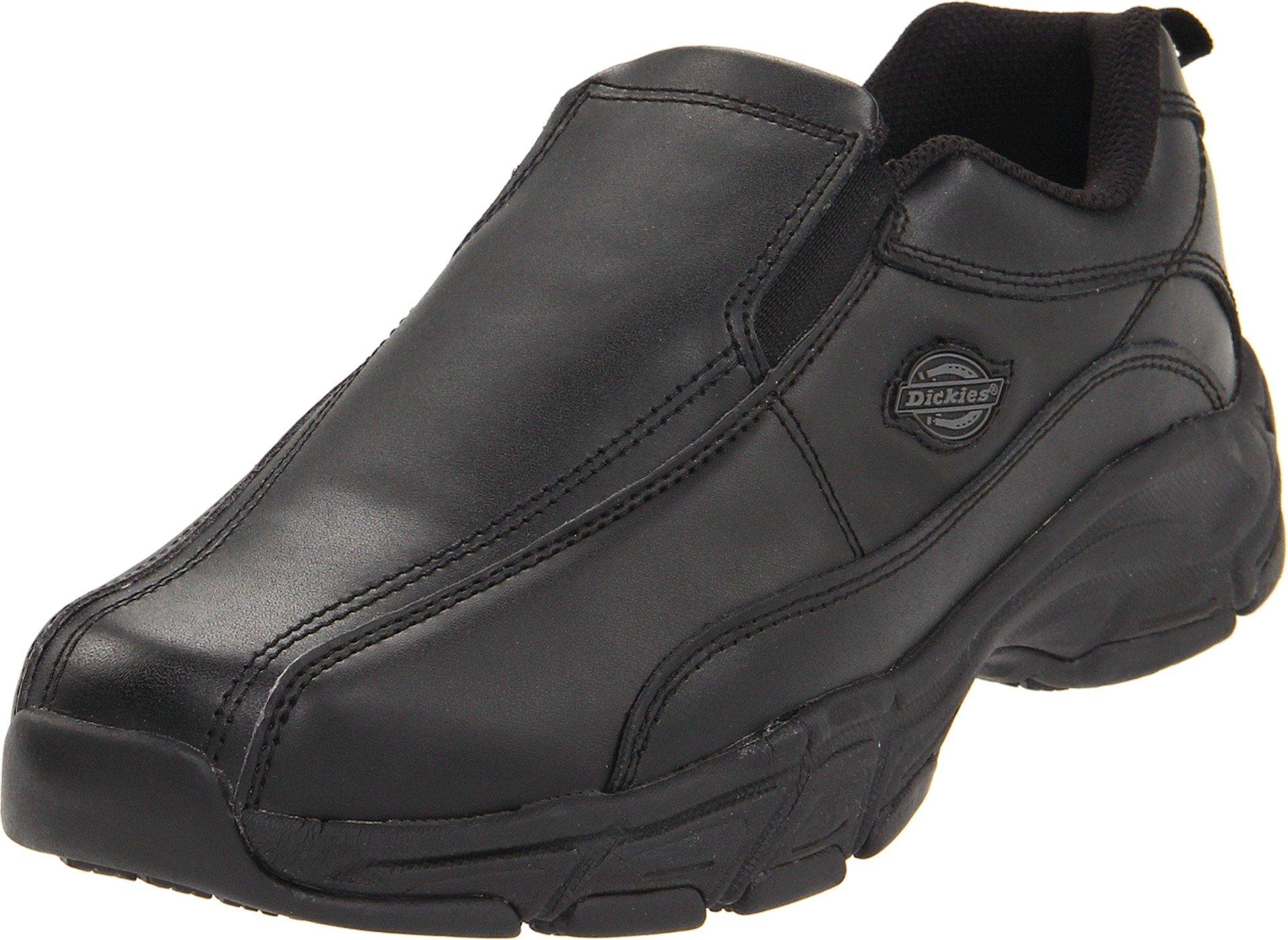 Dickies Men's Athletic Slip-On Work Shoe,Black,10 M US by dickies