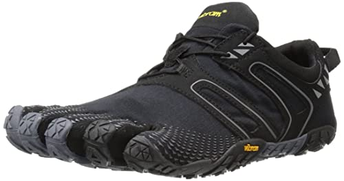 buy popular 48213 faf00 Vibram FiveFingers Men s V Trail Running Shoes,Purple (Black   Grey),5.5