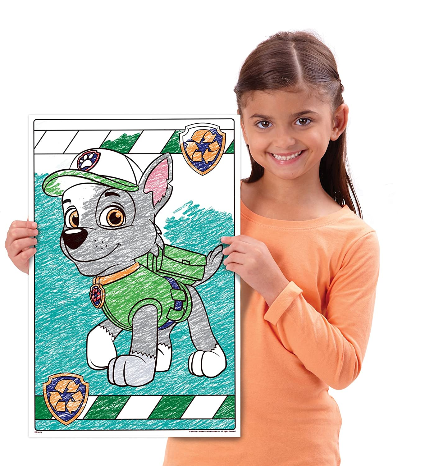 Crayola Paw Patrol Giant Coloring Pages