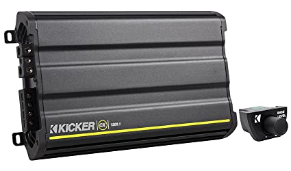 Package: Kicker CX1200.1 2400 Watt Peak/1200 Watt RMS Mono Block Class
