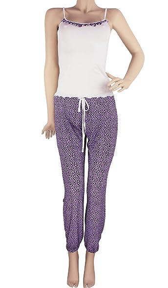 Pijamas de Mujer Hipnys Sleepwear PAT2 Pant & Cami PJ Set Pajama Nightwear Women