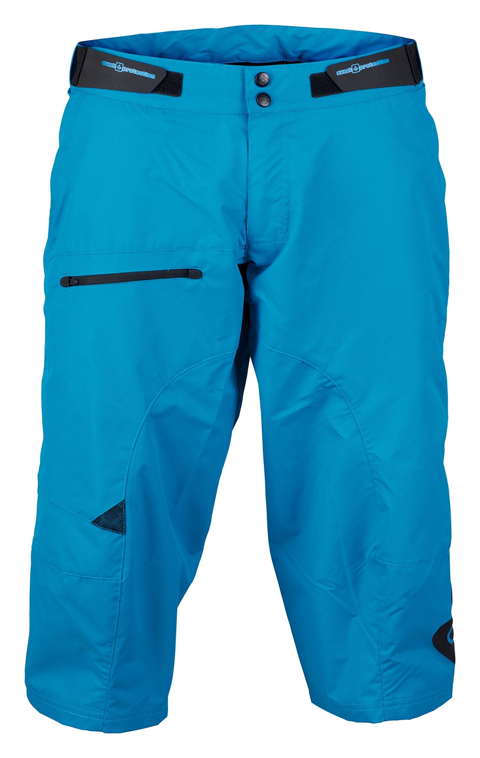 Sweet Protection Shambala Paddle Short - Men's Bird Blue, XL by Sweet Protection