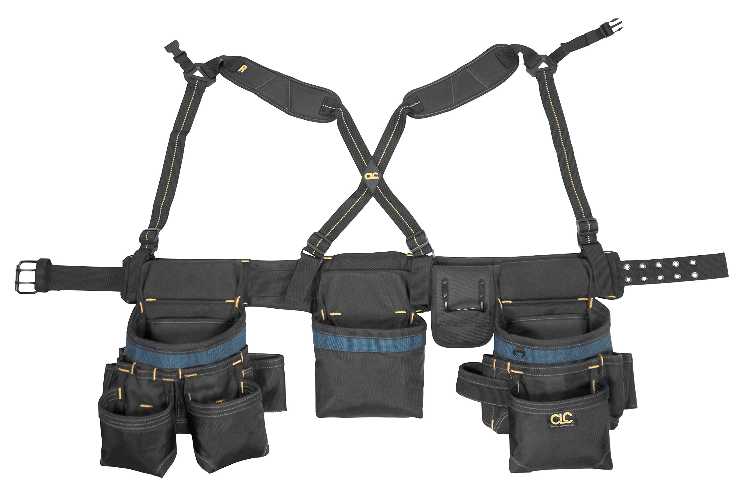 CLC Custom Leathercraft 2617 Framing Master Tool Belt, 28-Pocket by Custom Leathercraft