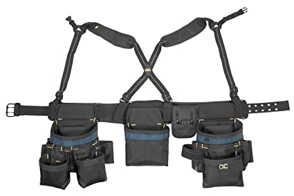 CLC Custom Leathercraft 2617 28-Pocket Framing Master Tool Belt ...