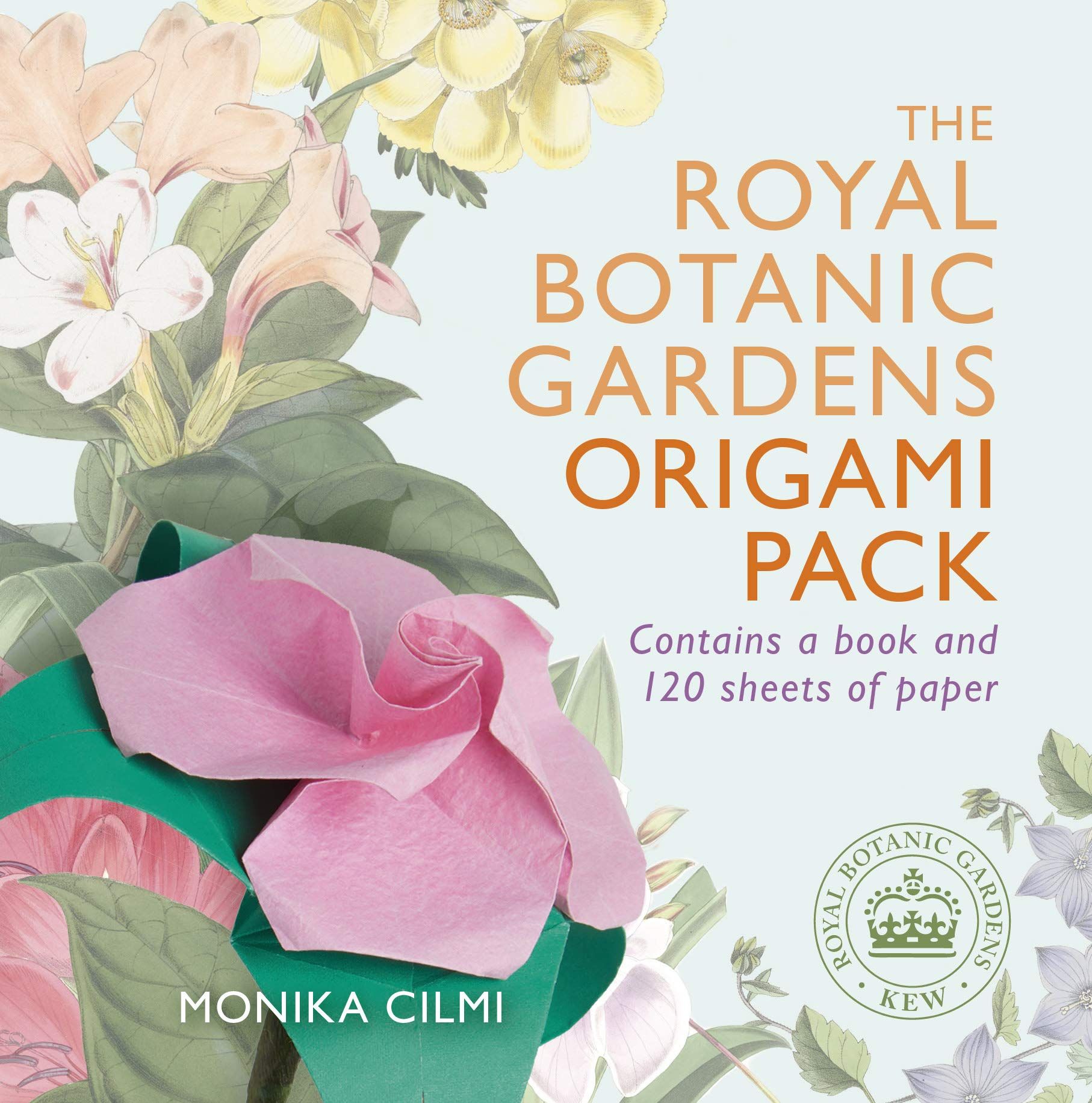 The Royal Botanic Gardens Origami Pack  Royal Botanic Kew Gardens Arts And Crafts
