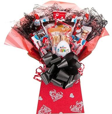 Kinder Valentine Chocolate Bouquet 20 Piece Tree Explosion Gift