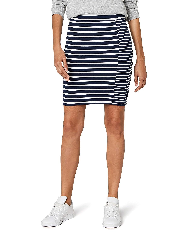 TALLA S. Tommy Jeans Mujer Stripe Mix Pencil  Falda