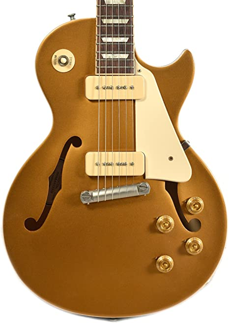 Gibson ES-Les Paul P-90 Goldtop VOS Wrap Around · Guitarra ...