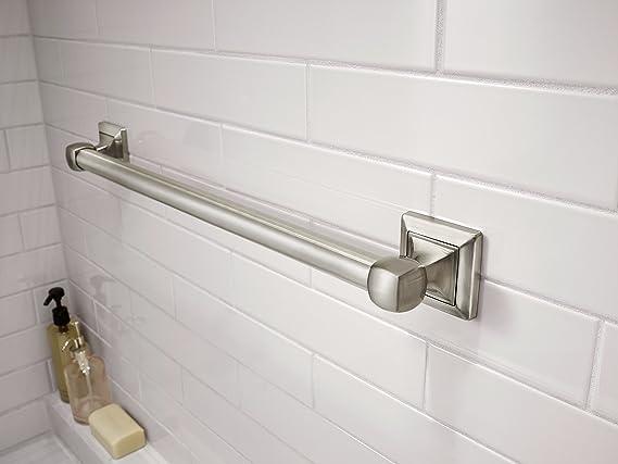 Delta DSQ5924-BN Harvard Square Decorative Bathroom Safety Grab Bar 24