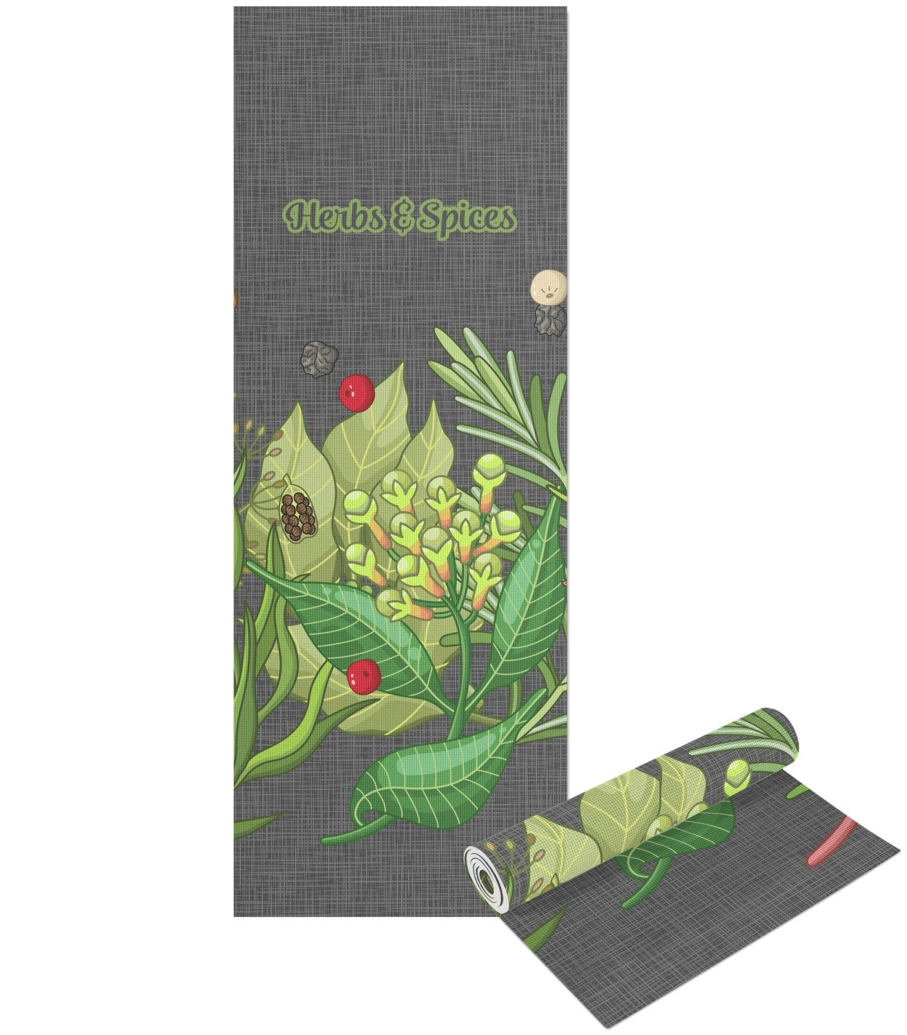 Amazon.com : RNK Shops Herbs & Spices Yoga Mat - Printed ...