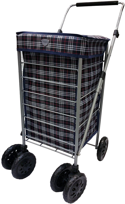 Hoppa 47L carrito de la compra de compra Caddie de dos ruedas: Amazon.es: Equipaje