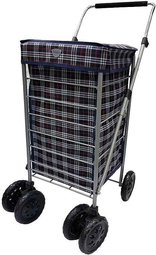 Hoppa 47L carrito de la compra de compra Caddie de dos ...