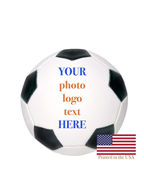 fe345d6a2af Custom Personalized Mini Soccer Ball - 6 Inch Soccer Ball - Ships in 3  Business Days