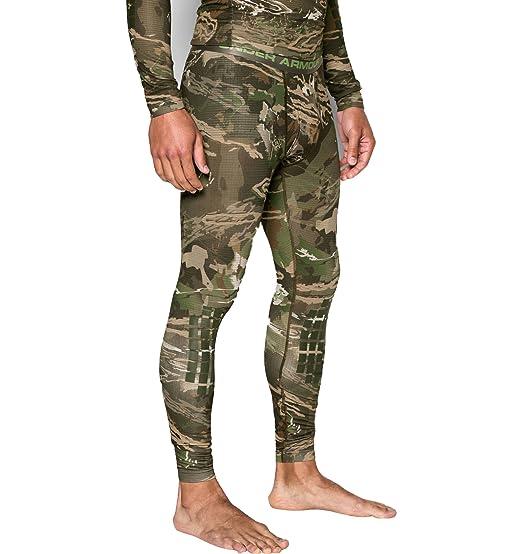 3ac14eadf Under Armour Men`s Polartec Camo Ridge Reaper Base Compression Pants  Leggings