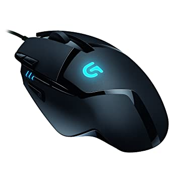Logitech G402 Gaming Mouse Hyperion Fury with 8 Programmable Buttons, 3600  dpi Optical Sensor - Black