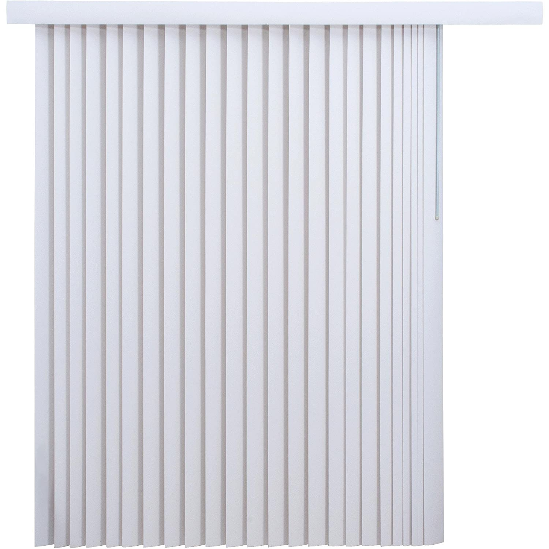 Cheap Vertical Window Blinds.Mainstay 78 X 84 Light Filtering Vertical Blinds 1 White