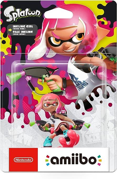 Nintendo - Amiibo Inkling Chica (Colección Splatoon): Amazon.es ...