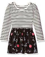 The Children's Place Toddler Girls' Long Sleeve Stripe Jersey Tutu Dress
