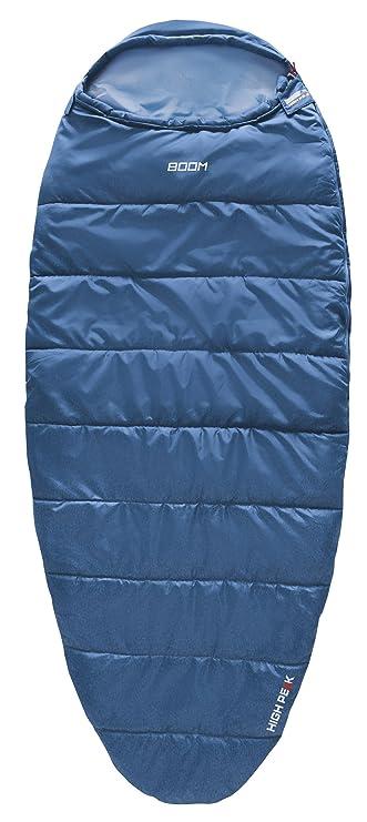 High Peak Boom Saco de Dormir, Unisex, Azul, 220 x 90/65 cm: Amazon.es: Deportes y aire libre